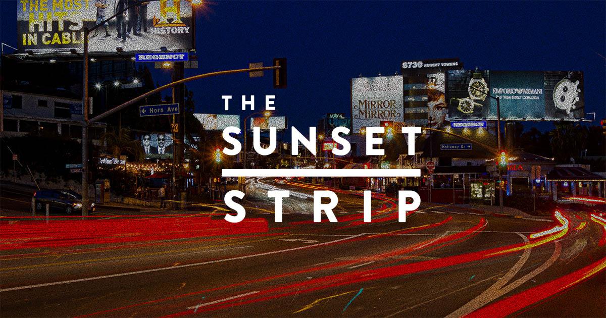 Sunset strip site